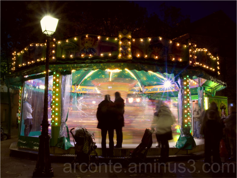A funfair from Paris