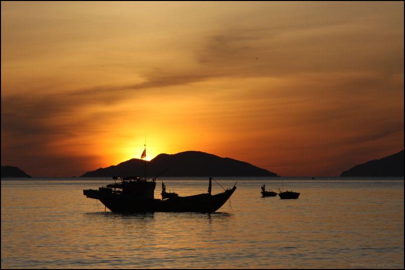 sunrise silhouette 2
