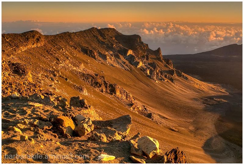 Sunrise at Haleakala Volcano, Maui