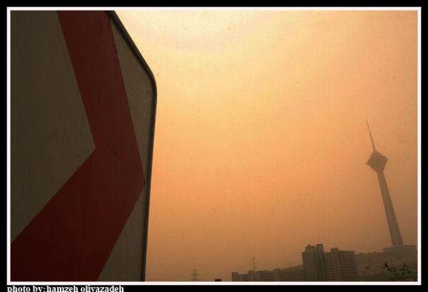 تهران در گرد و غبار