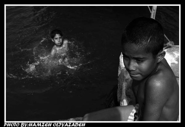 ماهیگیران جوان