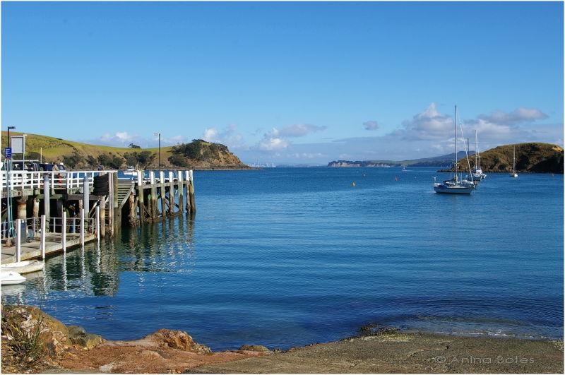 Waiheke Island, Matiatia Wharf