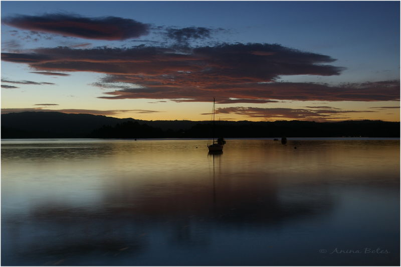Ohope Wharf, Sunset, Twilight, Nightfall