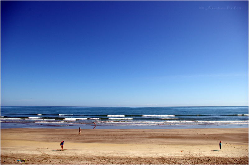 Ohope Beach, Summer, Blue