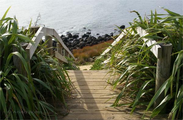 Beach, Steps