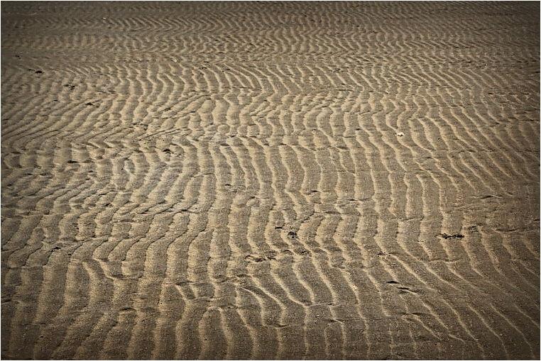 sand, ripples