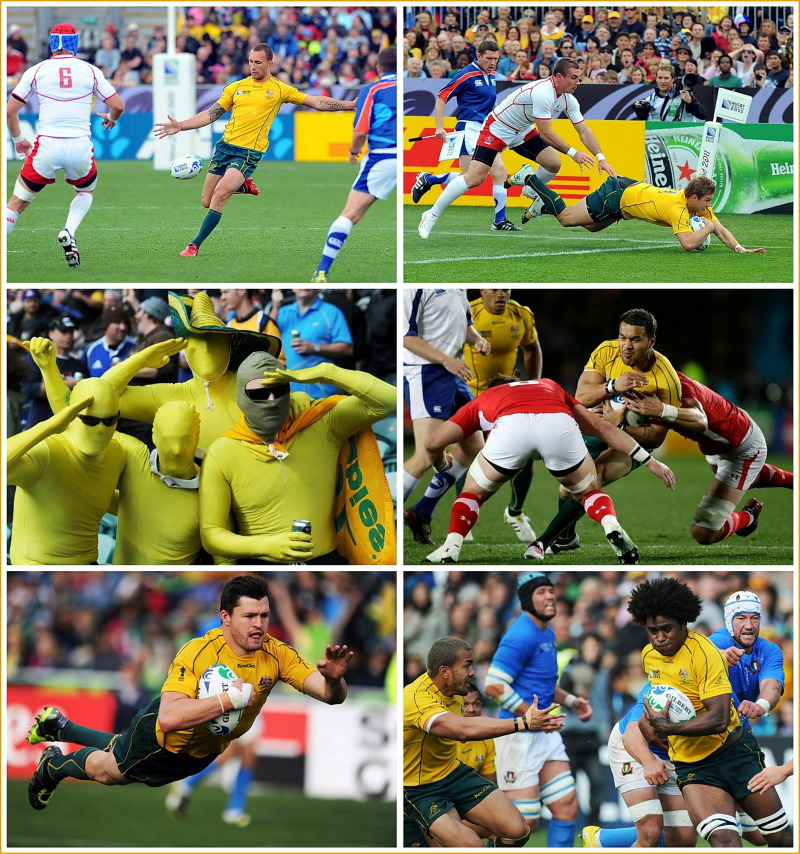 Australia, rugby