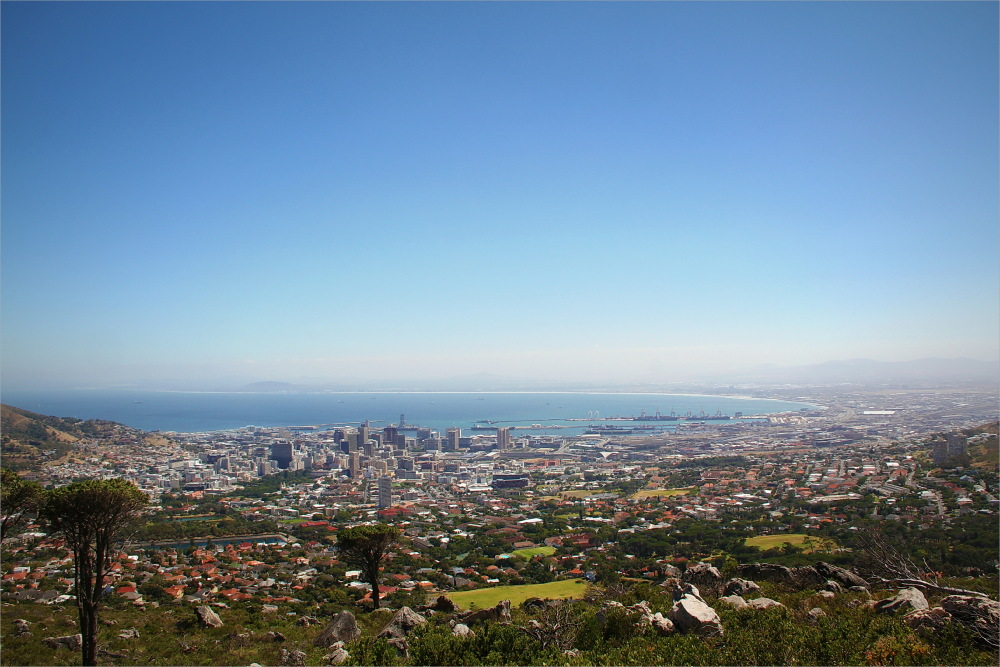 CapeTown, view
