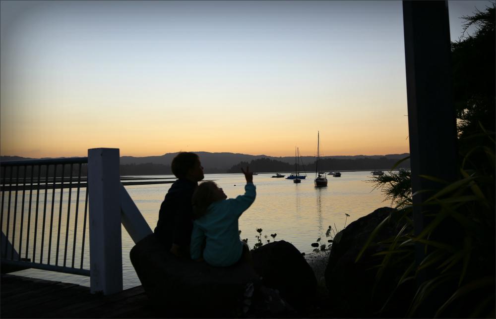 Ohope, NZ, New-Zealand, Beach, Sunset