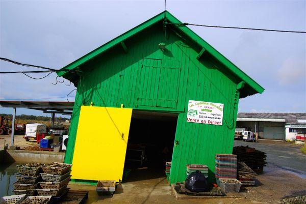 La cabane penchée