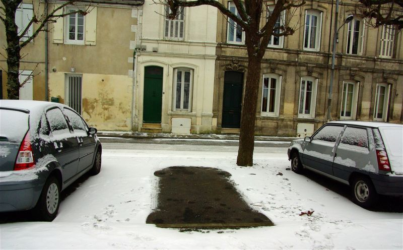 La voiture de l'Homme invisible