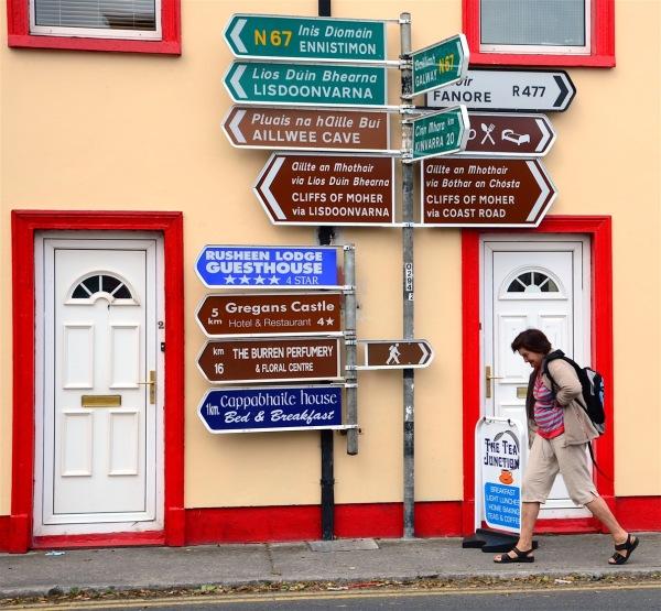 Irish trip (# 17) La croisée des chemins