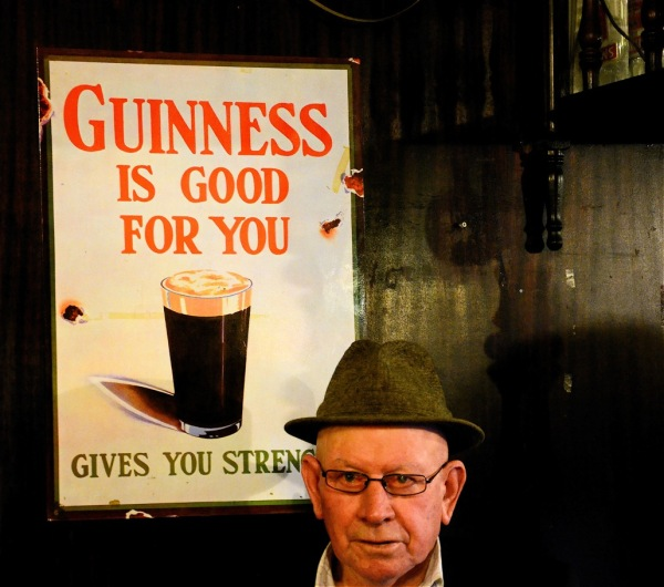Irish trip (# 18) Guinness is good for him