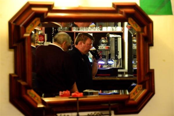 Irish trip (# 22) Pub mirror
