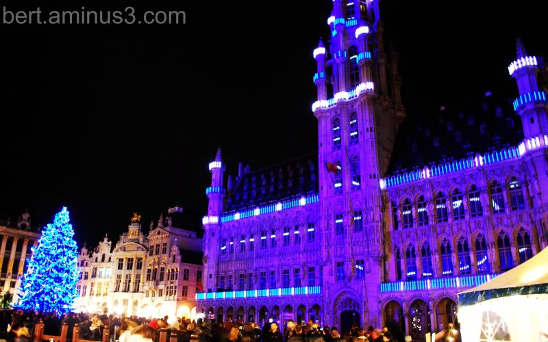 Lightshow Brussels '09