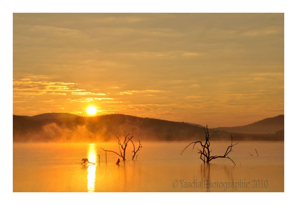 Sunrise at Mankwe Dam Pilanesberg