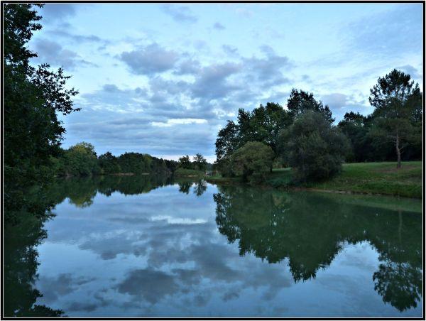 Un matin sur le lac
