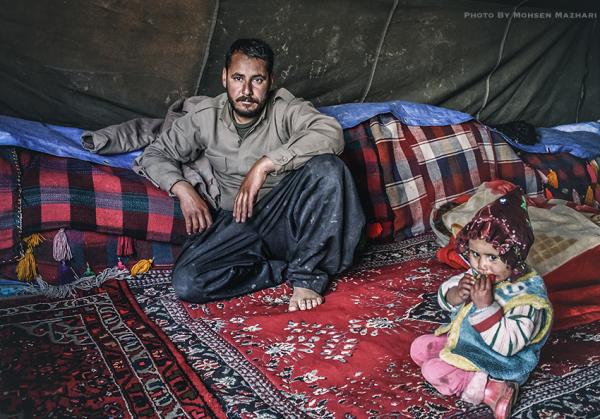 در چادر عشایر