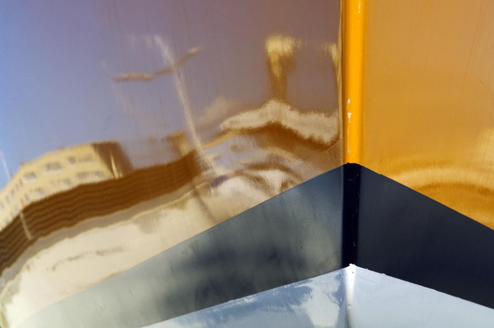 Reflet à la coque -2