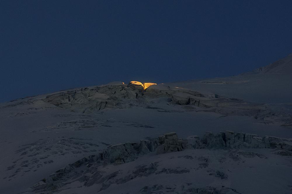 Le glacier du Tabuchet - 20 février - 18h
