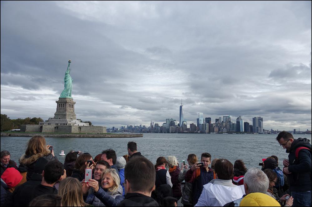 Selfie of Liberty