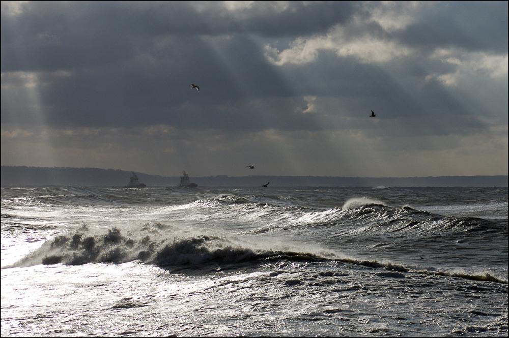 Lumière d'hiver sur Le Havre -2