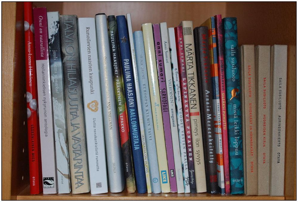 Books, poems
