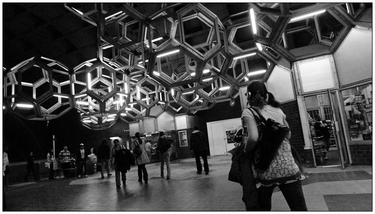 Very streamlined. Metro Station Namur.