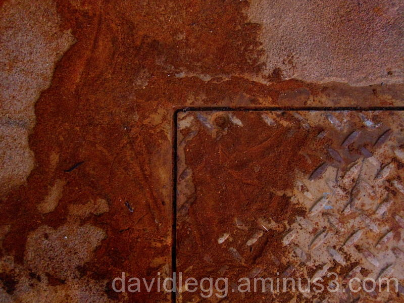 Rusted Access Panel