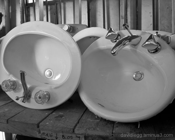 Salvaged Sinks