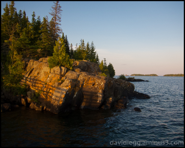 Evening Light, Rock Harbor, Isle Royale National P