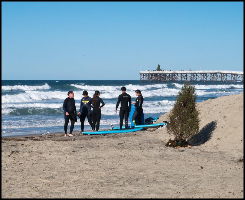 Christmas Surf