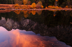 Autumn Reflections, Yosemite National Park, CA