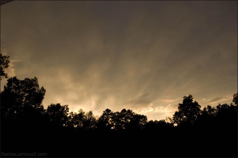 Sunset streaks