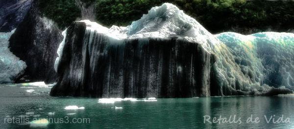 Quan el gel deixa veure la roca