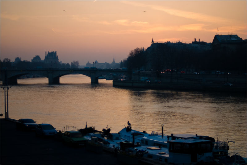 paris sunrise
