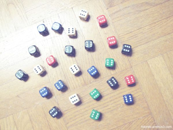 Let's roll the dice