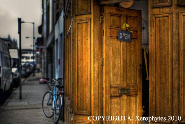 Door's open