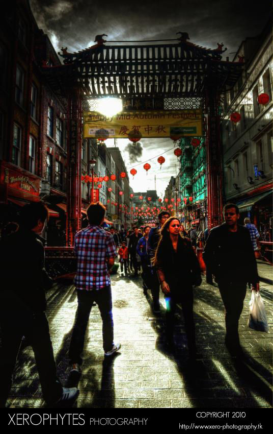 Rain's Out. Sun's In. Chinatown!