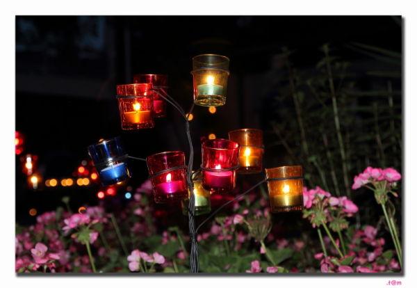 St Rochus Aarschot candles August 15