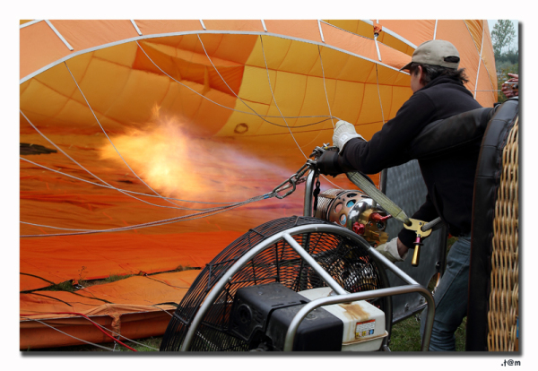 The Hot Air Balloon Flight