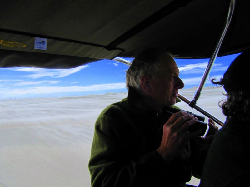 Birdwatching on Farewell Spit, New Zealand