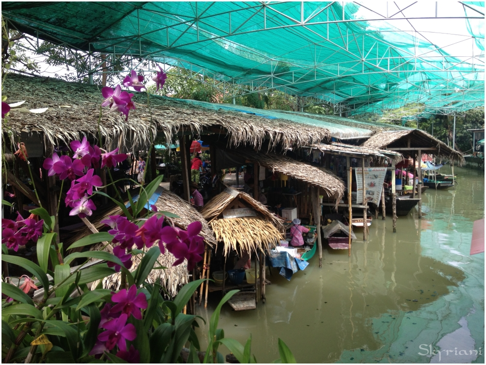 Honey Temple Floating Market