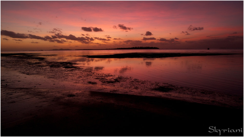 Fijian Sunset III