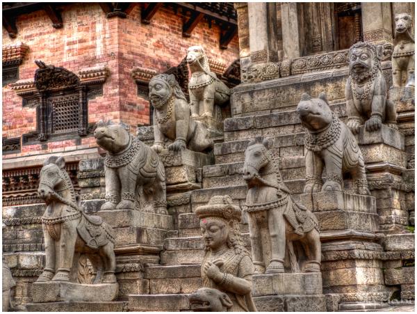 Bhaktapur statuary