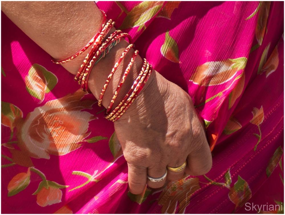 Bangles and Sari