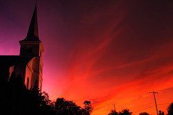 Church Sunset
