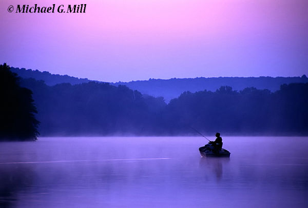 Twilight Fisherman