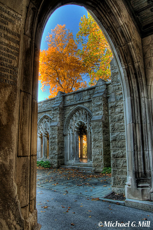 Fall Colors From The Washington Memorial Chapel