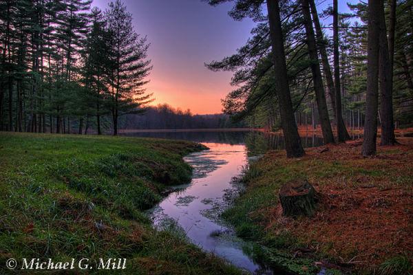 Hay Creek Sunset